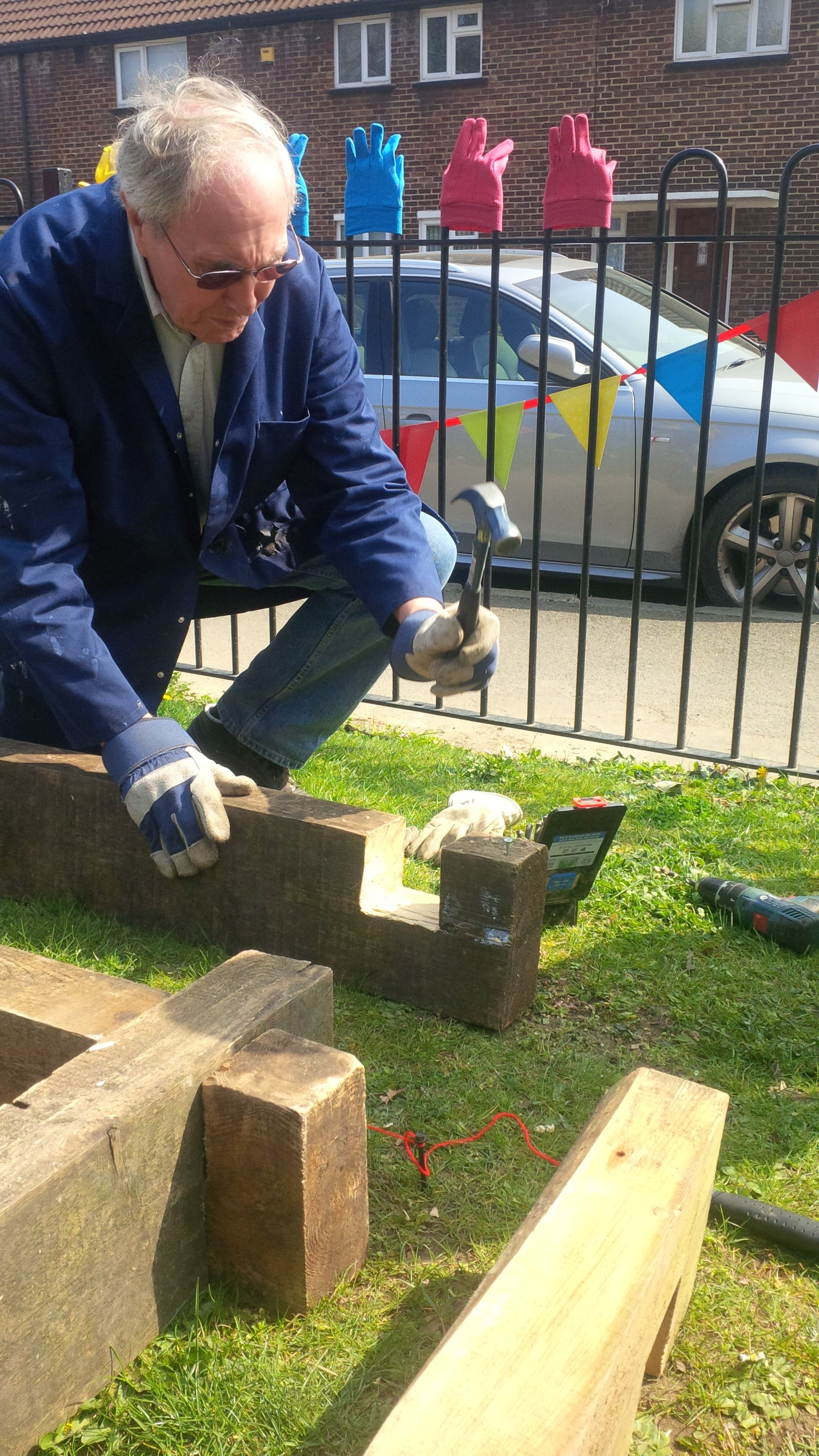 Gardening Project - Build Day/Workshops – 9th April 2015