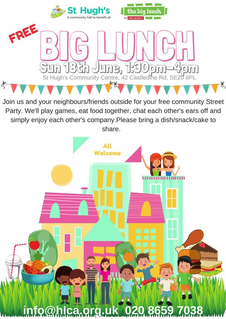The Big Lunch Sunday 18th June 2017