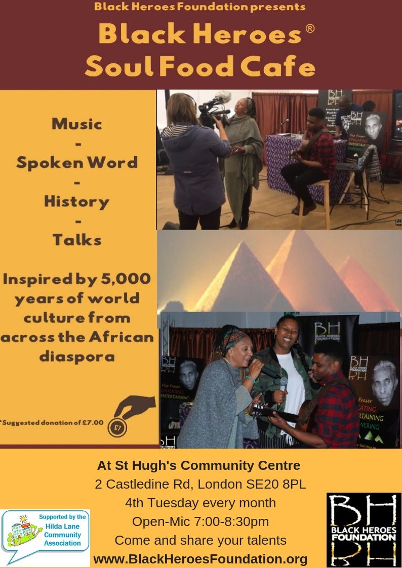 Black Heroes SoulFood Cafe Comes to St Hugh's