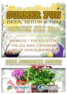 SE20 Community Garden Summer BBQ