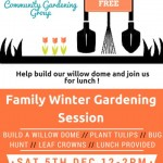 SE20 CGC - Family Gardening Session - Saturday 5th December 2015