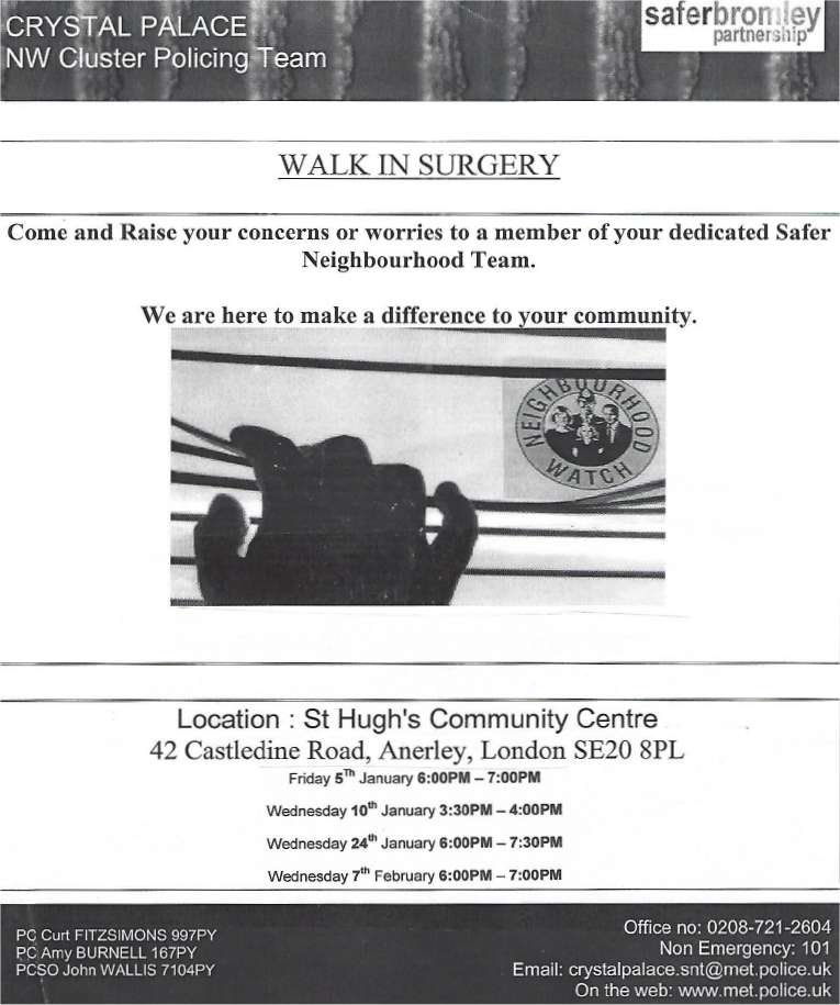 SNT Surgeries - Jan-Feb 2017