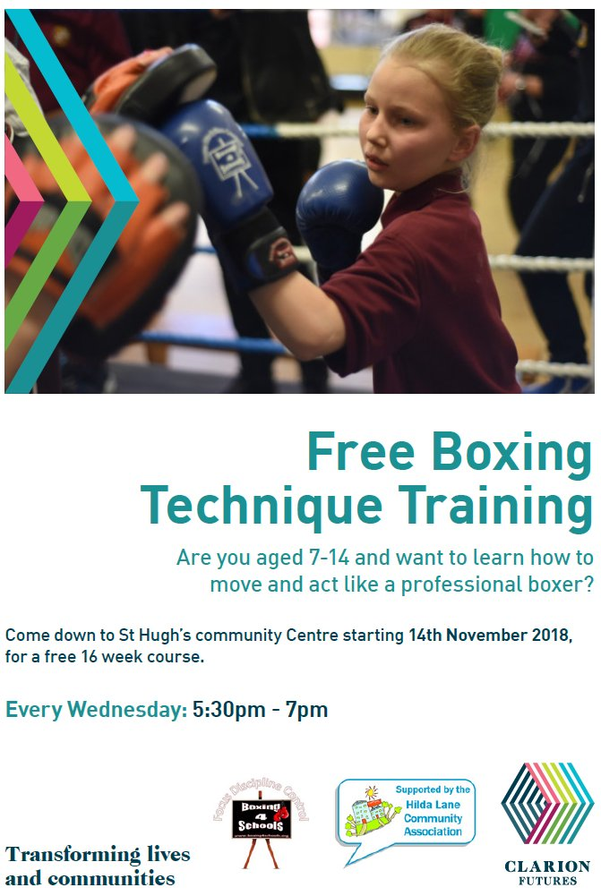St Hugh's - Boxing Technique Training 2018