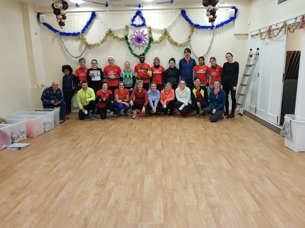 St Hugh's Christmas Decorating with GoodGym Bromley